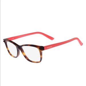 NWT Valentino glasses V2694 Havana-Coral